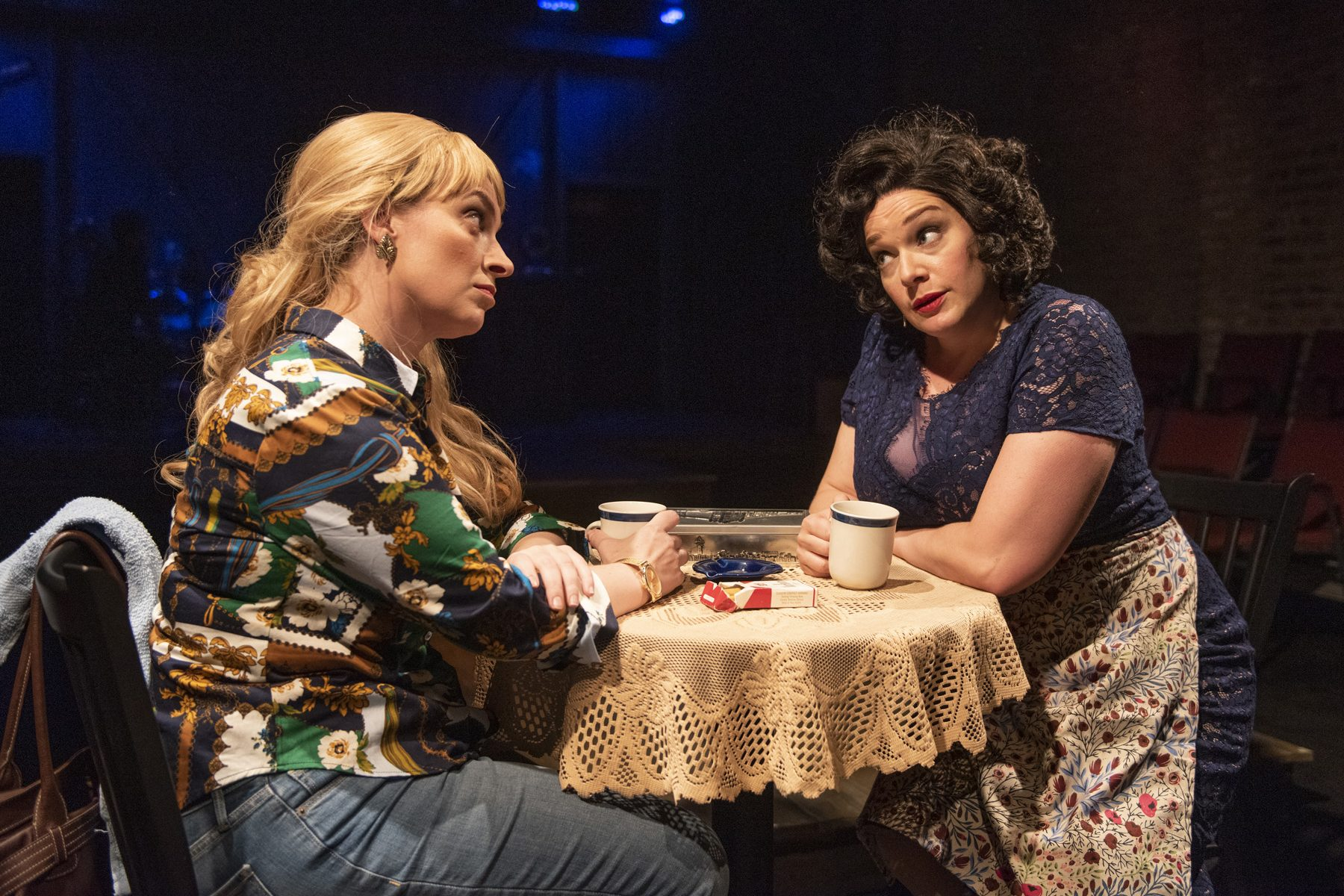 (left to right) Harmony France and Christina Hall. Photo by Michael Brosilow.